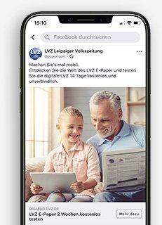 Aufbau Facebook Werbeanzeige