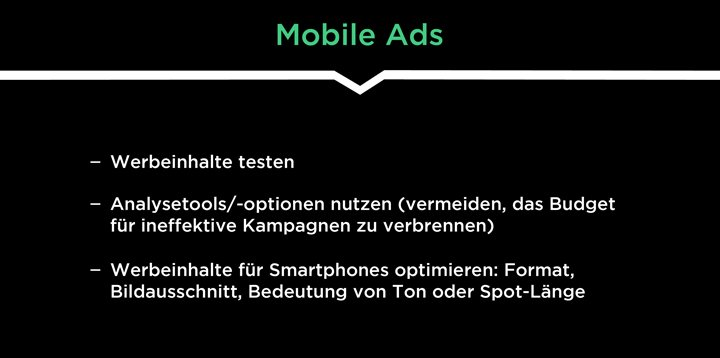 mobile first vorteile