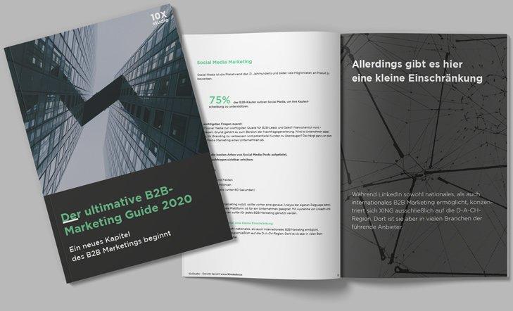 der ultimative B2B marketing guide