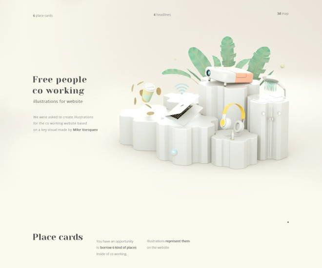 realistische 3d Designs