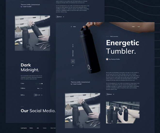 Dark Mode Design