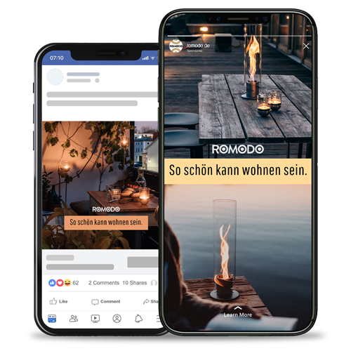 Romodo 10xStudio Social Media Agentur